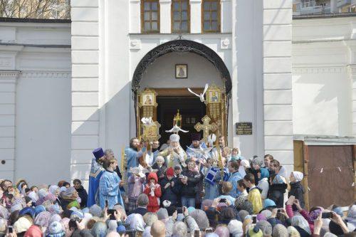 Престольный праздник храма Благовещения Пресвятой Богородицы в Федосьино. Визит Епископа Гурия (Шалимова).