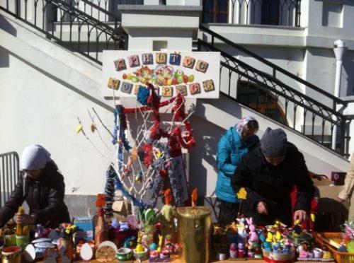 Благотворительная ярмарка Воскресной школы храма  прп. Сергия в Солнцево