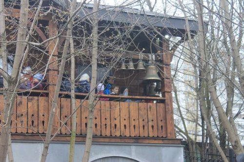 Колокольный звон учеников ГБОУ СОШ 72 в храме Святителя Спиридона!