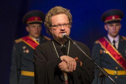 Епископ Выборгский и Приозерский Игнатий принял участие в Торжественном собрании, посвященном празднованию 70-летия Победы в Великой Отечественной войне