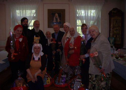 День Победы в храме Рождества Пресвятой Богородицы в Крылатском