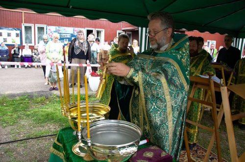 Престольный праздник в храме прп. Серафима Саровского в Кунцеве