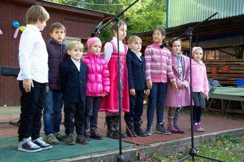 Праздничный концерт ко Дню пожилых людей