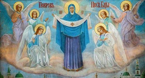 Православные празднуют Покров Пресвятой Богородицы