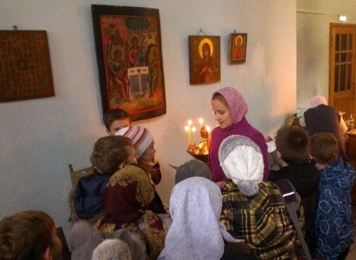 Покровские старты в храме Знамения Пресвятой Богородицы в Кунцеве