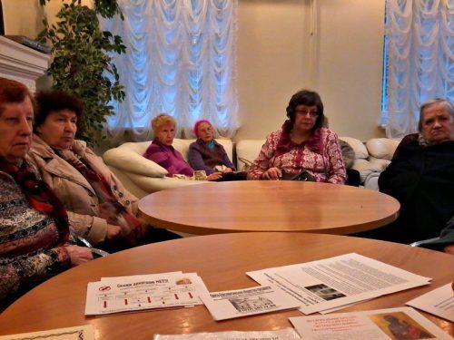 о.Вадим посетил ГБУ ЦСО-Фили и рассказал о церковных праздниках
