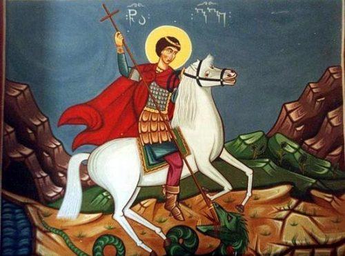 Через страдания к победе Архимандрит Рафаил (Карелин) о почитании святого Георгия Победоносца в Грузии