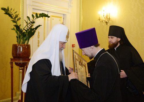 Иерей Николай Головинов удостоен Патриаршей грамоты