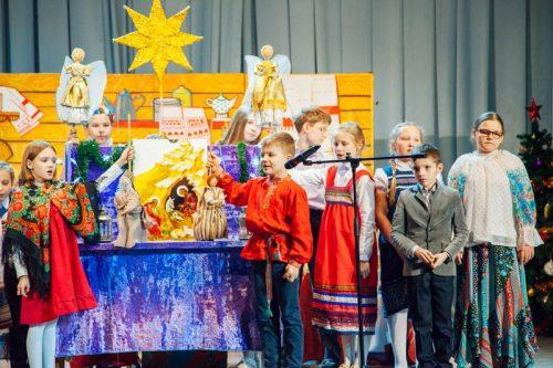 15 января прошла рождественская приходская Елка