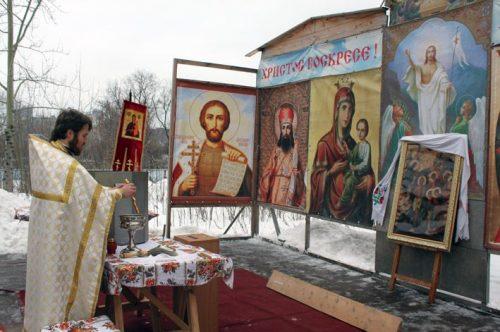 Община храма Богоявления 19 января отпраздновала престольный праздник