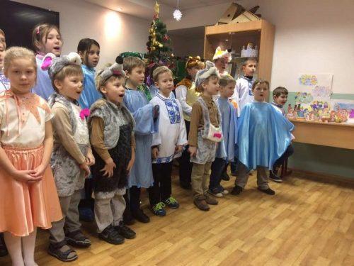 15 января 2017 г. в Воскресной школе храма Знамения в Кунцеве состоялся Рождественский утренник