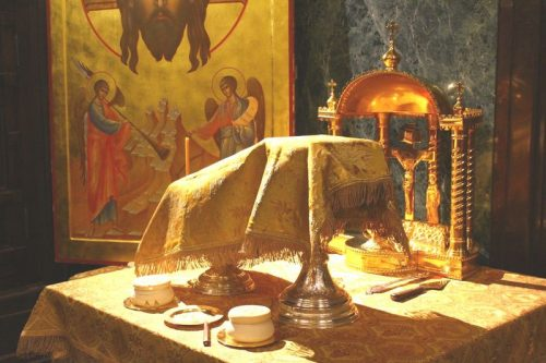 Божественная Литургия организованная для детей Воскресных школ Московских приходов, подворий и монастырей, в кафедральном соборном храме Христа Спасителя