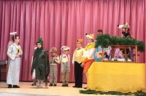 Рождественский концерт в школе № 1248