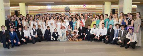 Молодежь храма прп. Сергия Радонежского в Солнцево посетила Рождественский бал