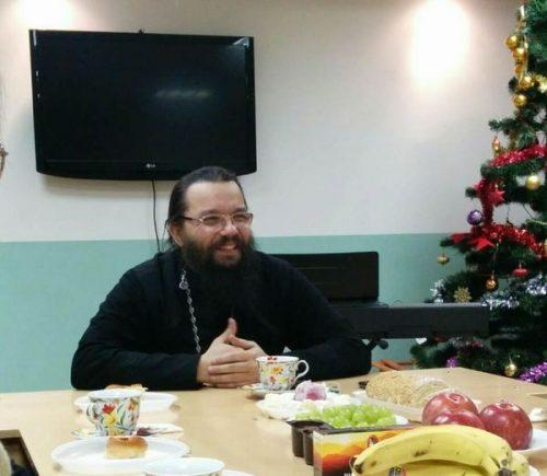 Встреча иконописной группы с настоятелем храма Знамения в Кунцеве епископом Матфеем (Копыловым)