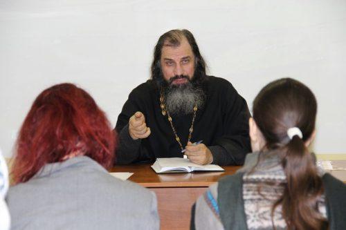 Собрание директоров воскресных школ Западного викариатства на Поклонной горе