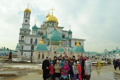 Паломническая поездка в Ново-Иерусалимский монастырь