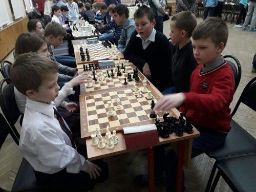 Учащиеся Воскресной школы «Росток» на шахматном турнире в Тропарево-Никулино