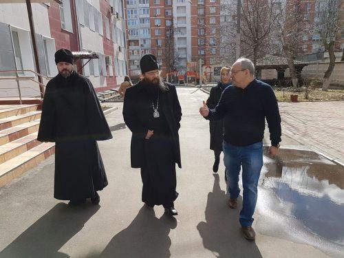 Епископ Матфей (Копылов) посетил центр содействия семейному воспитанию «Наш дом»