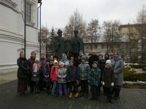Посещение Новоспасского монастыря