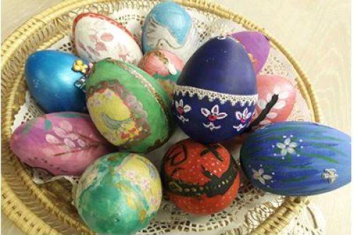 Пасхальные яйца для благотворительной ярмарки
