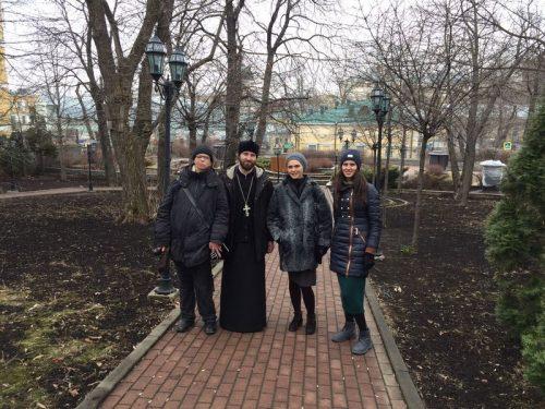 Молодежь храма Знамения прогулялись по исторической Москве: Ивановской горке и Хитровке