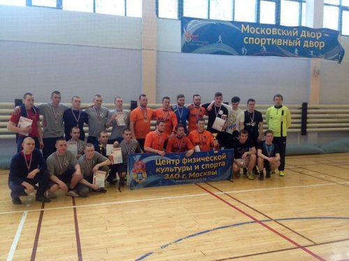 Команда «Архистратиг» на соревнованиях Георгиевских игр