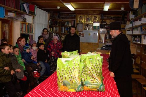Пасхальные дары многодетным семьям