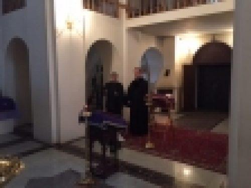 Епископ Игнатий совершил визит в пос.Кузнечное