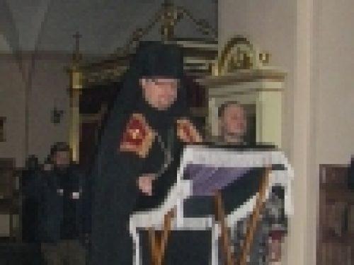 Епископ Выборгский и Приозерский Игнатий совершил уставные богослужения и иноческий постриг в Коневской обители