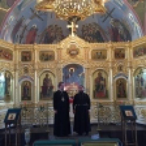 Продолжается рабочий визит епископа Выборгского и Приозерского Игнатия на Северный Кавказ