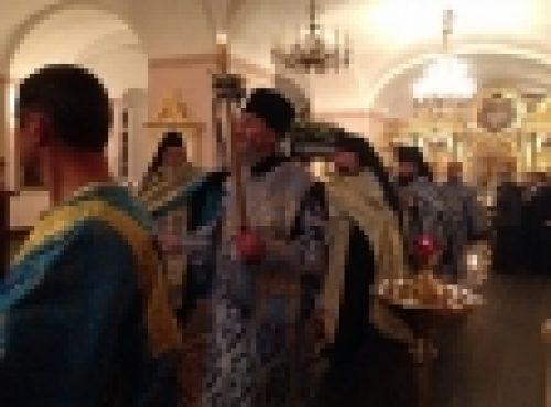 Священноархимандрит Коневского монастыря, епископ Выборгский и Приозерский Игнатий совершил Чин погребения Богородицы в обители