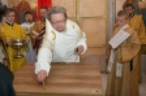 Епископ Выборгский и Приозерский Игнатий освятил храм Иоанна Предтечи в Юкках