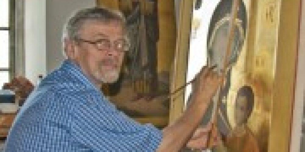 Список чудотворного образа Пресвятой Богородицы, находящегося в греческом монастыре Иверон, был специально создан и привезен для возводимого в Юго-Западном округе Москвы храма