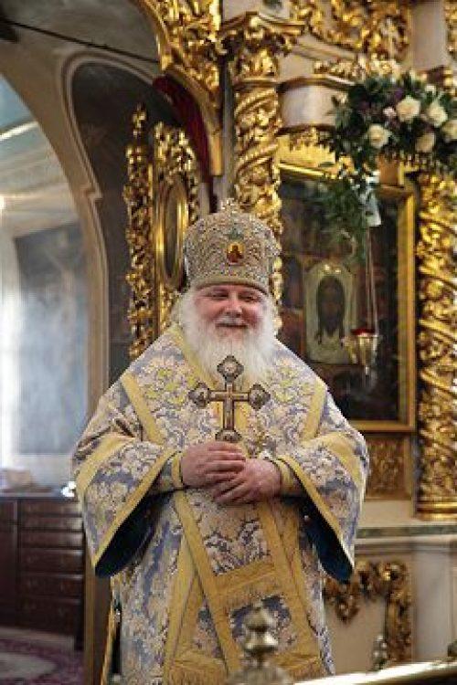Митрополит Истринский Арсений совершил всенощное бдение и Литургию в храме пророка Божия Илии в Обыденском переулке