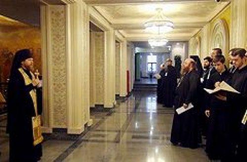В Сретенском ставропигиальном монастыре начали работу курсы епархиальных древлехранителей