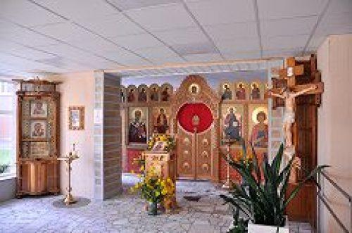 В день памяти великомученика и целителя Пантелеимона в больничном храме на территории Федерального бюро медико-социальной экспертизы совершена Литургия