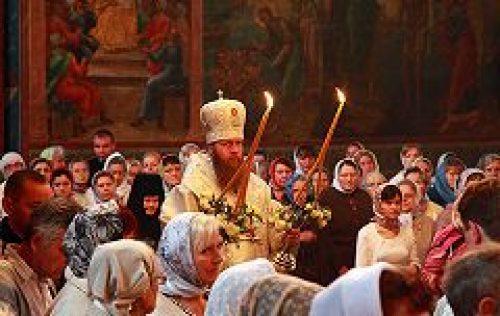 Состоялись торжества по случаю престольного праздника Новоспасского монастыря