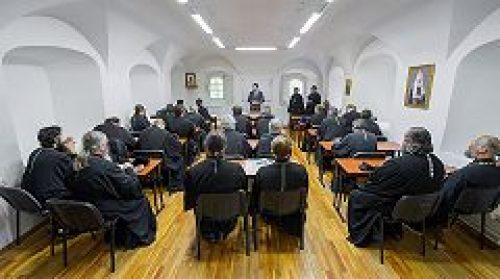В Новоспасском монастыре открылись очередные курсы повышения квалификации духовенства г. Москвы