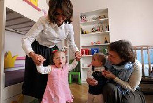 Православный детский дом принял под опеку первых отказников с синдромом Дауна