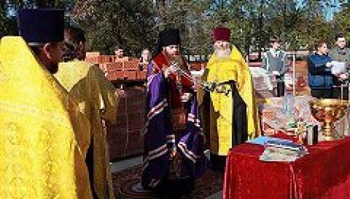 В Юго-восточном викариатстве заложен храм в честь святителя Димитрия Ростовского