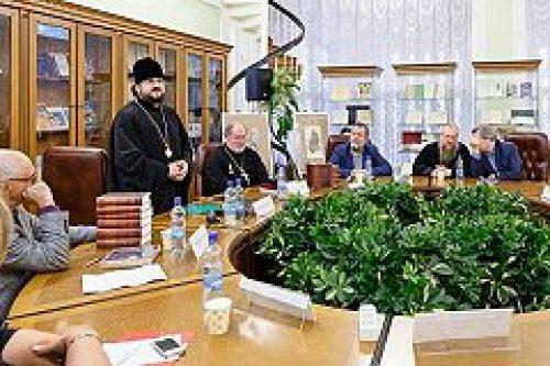 В Российской государственной библиотеке прошла презентация собрания сочинений святителя Иннокентия (Вениаминова)