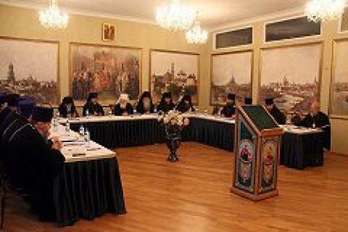 Состоялось заседание Епархиального совета Московской городской епархии