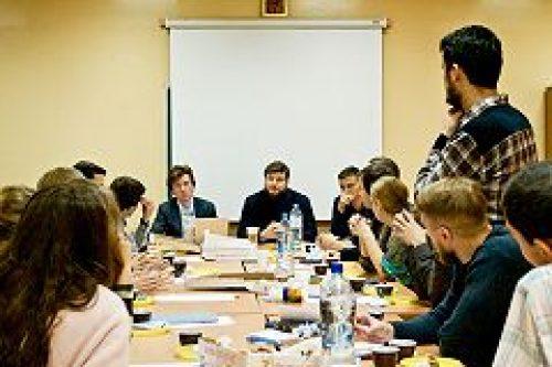 При Молодежном отделе городской епархии образован Совет православных молодых парламентариев
