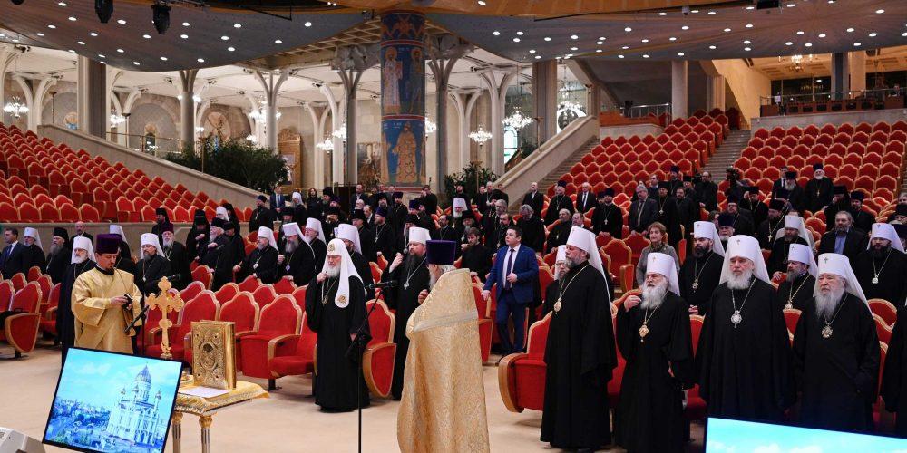 Епископ Фома принимает участие в работе пленума Межсоборного присутствия Русской Православной Церкви