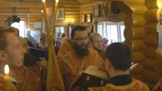 Архиепископ Матфей благословил Сестричество храма Успения Пресвятой Богородицы в Матвеевском